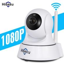 Мини Беспроводная ip-камера Wifi 1080 P Smart ночного видения наблюдения Onvif сеть видеонаблюдения камера безопасности Wi-Fi hiseeu детский монитор