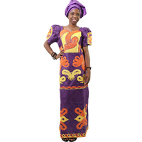 MD african clothing african dresses for women fashion head wrap south africa bazin riche women maxi dress african print dresses