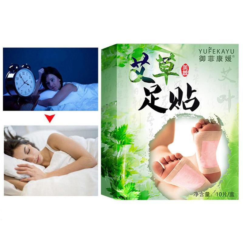 20pcs=(10pcs Patches+10pcs Adhesives) Detox Foot Patches Pads Body Toxins Feet Slimming Cleansing Herbal Adhesive 4