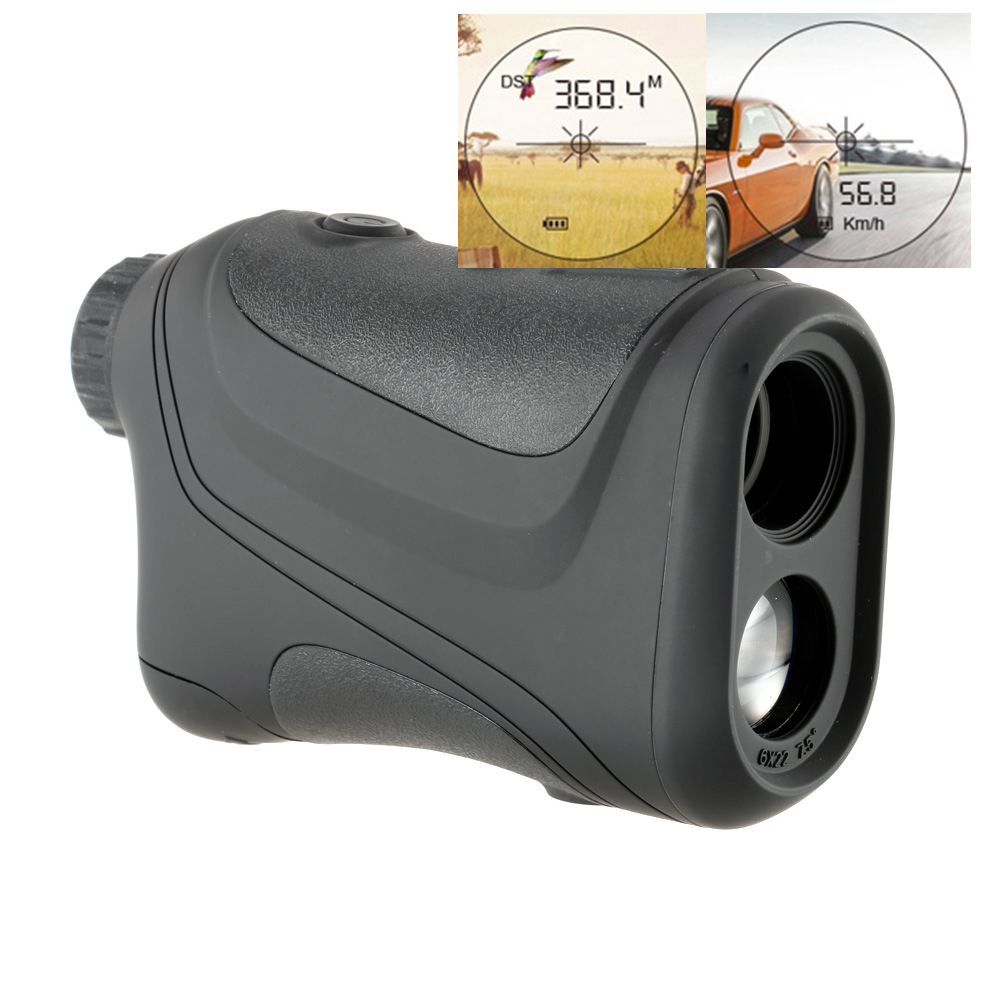 600m laser Distance Meter 18 300KM H Speed Rangefinder Golf Rangefinder Hunting Rangefinder Telescope Speed measure