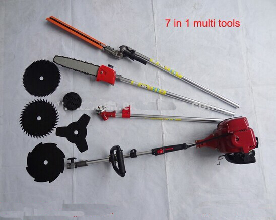 Mower 7 in 1 Multi Tools GX35 4-stroke brush cutter chain saw hedge trimmer