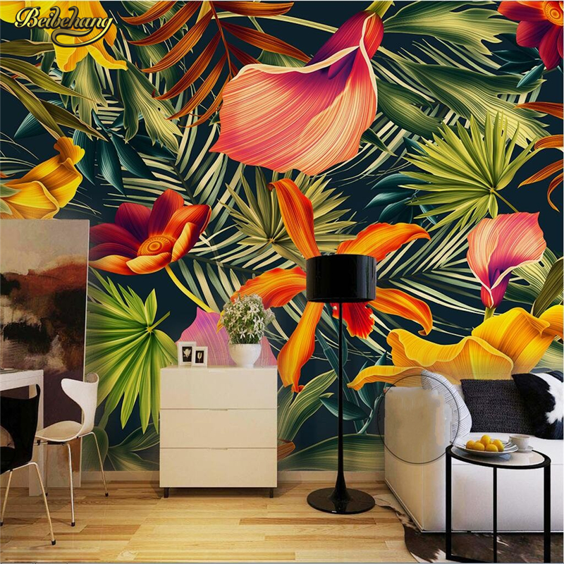 Tropical Wall Murals popular tropical wall murals-buy cheap tropical wall murals lots