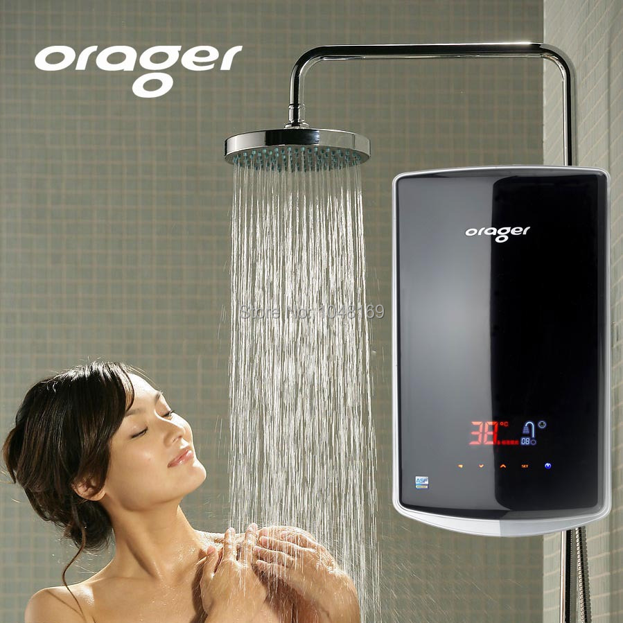 Electric Tankless Water Heater Shower : Aliexpress buy intelligent control electric