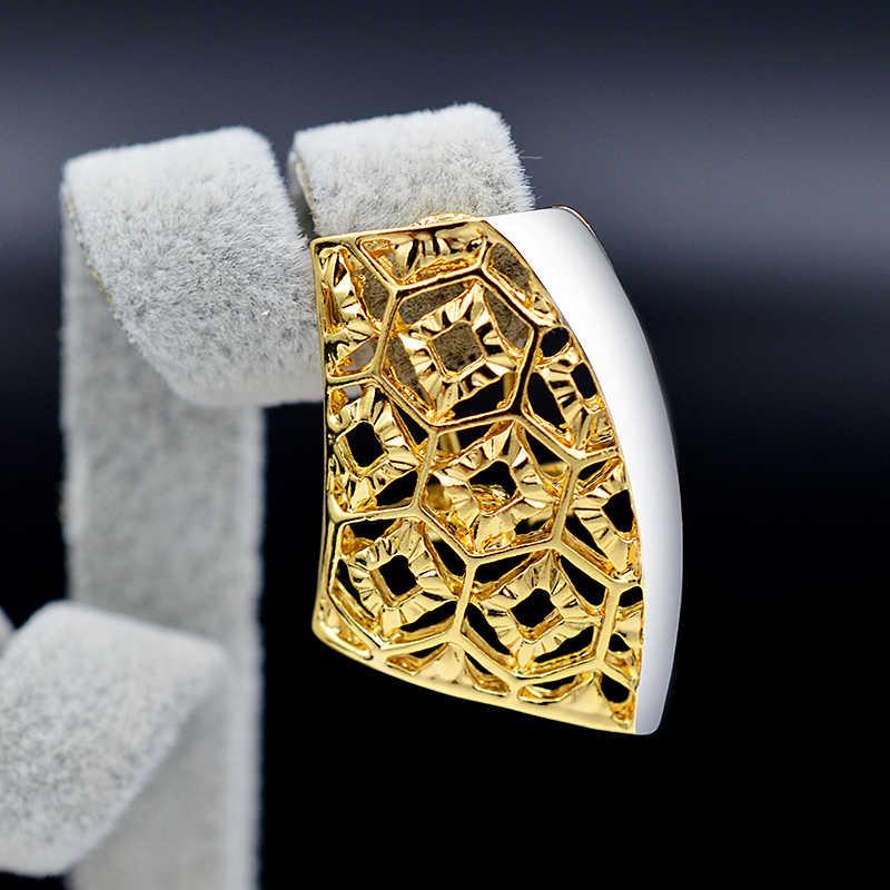 Ensoleillé bijoux romantique ensembles de bijoux pour les femmes boucles d'oreilles pendentif collier fleur modèle ensembles de bijoux pour fête bijoux de fiançailles