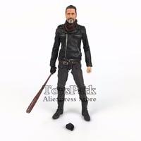 ToysPark 2017 The Walking Dead 5 NEGAN Action Figure Mcfarlane Toys AMC TV Series 10 Exclusive Doll Model Collectible L