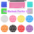 5pcs Notebook Silicone Keyboard Cover Skin Protector For Apple MacBook Pro/Air 13.3 Freeshipping