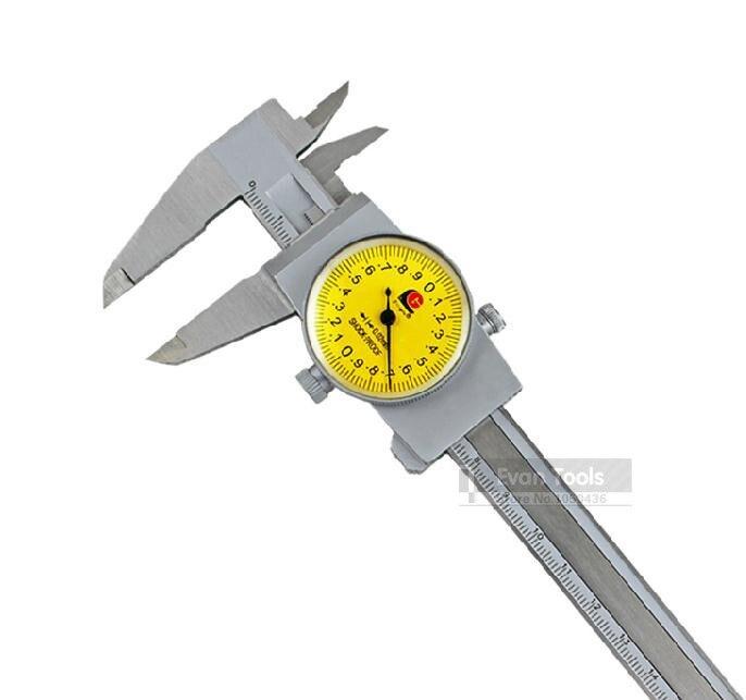 GUANGLU 0 150mm 0 02 Dial font b Caliper b font Stainless Steel Vernier font b