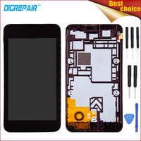 Black For Nokia Lumia 530 N530 LCD Display Touch Screen Digitizer Glass Panel Full Assembly Repair