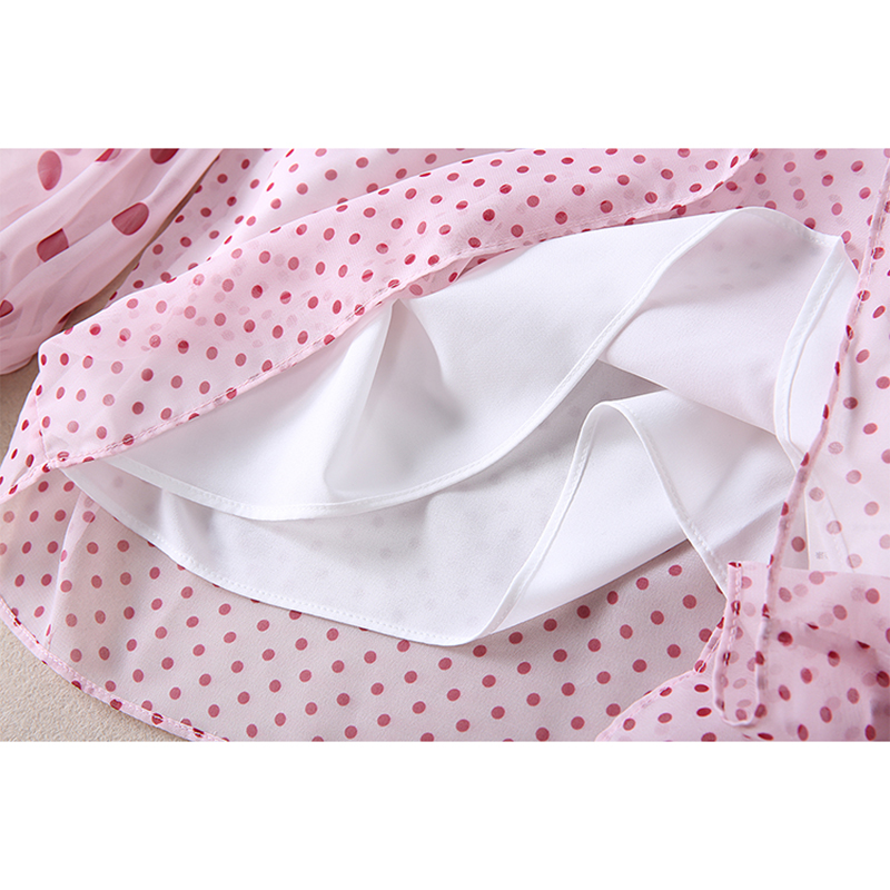 La Punto Manga ever Impresión Diseñador Juego Pista Bordado Camisa Larga De Falda Blusa Yd Mujer nOpx8TTq