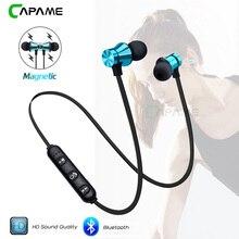 fccb489581b Wireless Headphone Bluetooth Earphone Magnetic Headset Neckband Sport  Running Bluetooth Earphones For iPhone 7 X Xiaomi