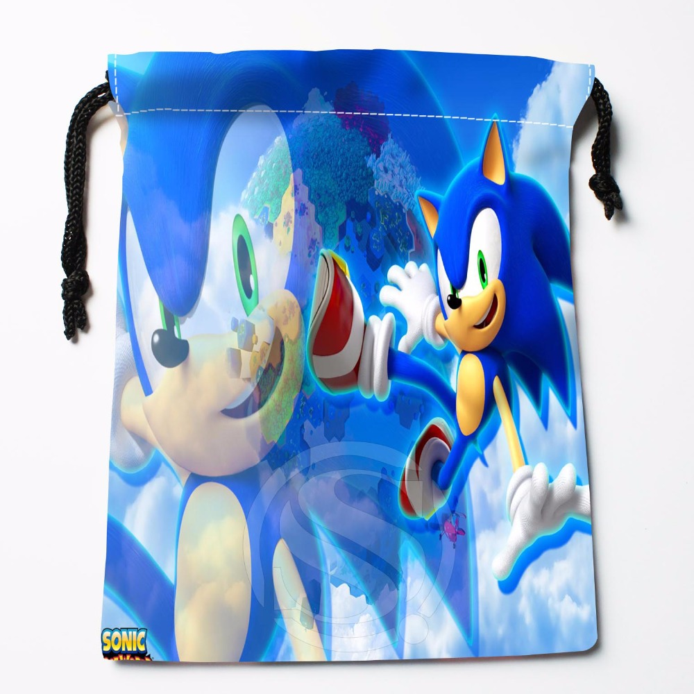 TF&22 New Sonic The Hedgehog #7 Custom Printed Receive Bag Bag Compression Type Drawstring Bags Size 18X22cm &81#22