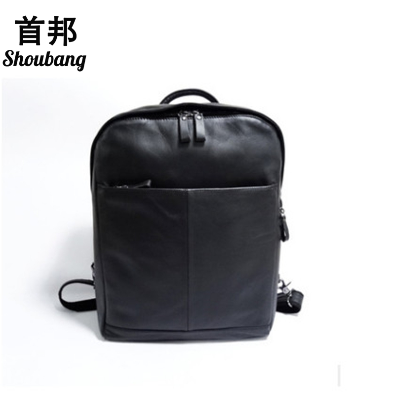 Korean Style Women Cow Leather Backpacks Genuine Leather Female Laptop Bag For Teenagers Travel Bag диск обрезиненный d31мм mb barbell mb pltc31 5 кг красный