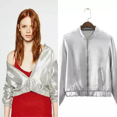 Compare Prices on Silver Short Jacket- Online Shopping/Buy Low ...
