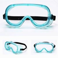 Laboratory Anti Fogging Goggles Waterproof Eye Shield Splash Prevention And Dust Protection Glasses