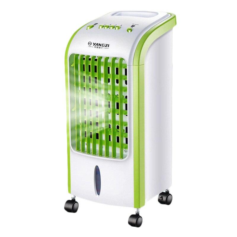 Muet Mini Portable Cool Électrique Climatiseur pour La Maison Air Conditionné Ventilateur De Refroidissement avec De Glace Réfrigérée Cristal 8 H Timing