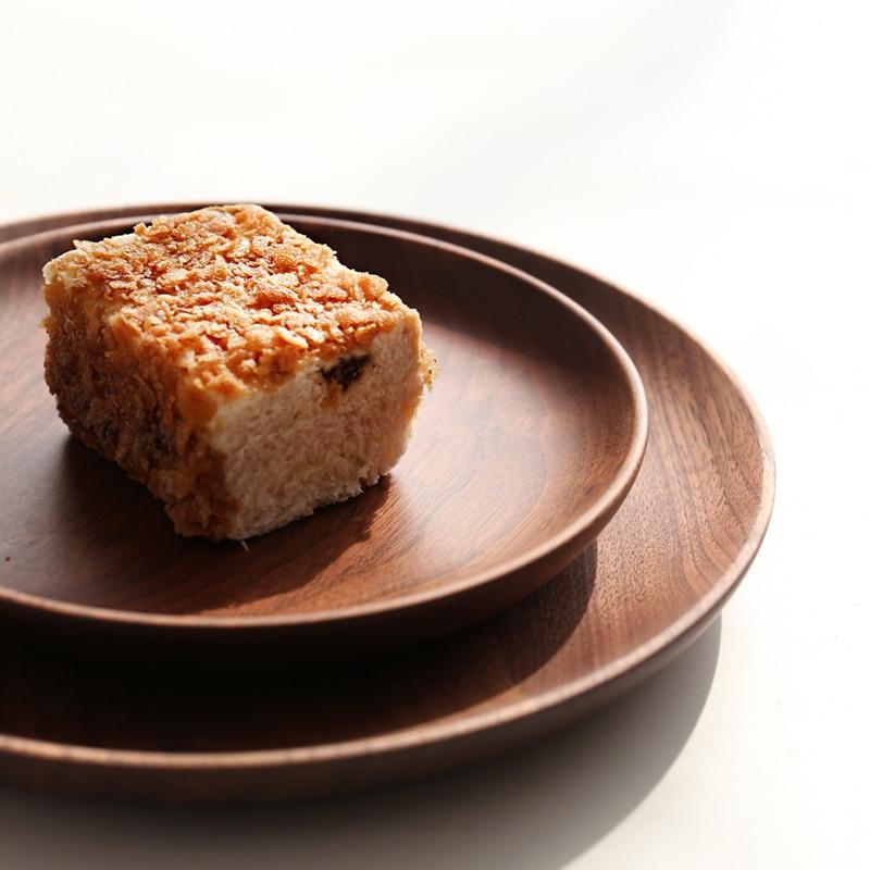 Importiert Nussbaum Holz Japanischen Lebensmittel Sweets Tablett