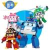 Robocar Poli Toy 4pcs Pack Transformer Robot Car Toys Poli Robocar Korea Transform Toys Birthday Gift