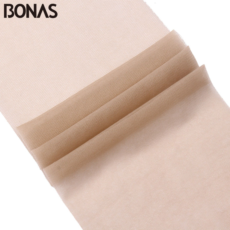 Image 4 - BONAS 6pcs/lot Wholesale Women Tights 15D Nylon Lady Summer New High Elasticity Spandex Pantyhose Female Seamless Soft Tights-in Tights from Underwear & Sleepwears