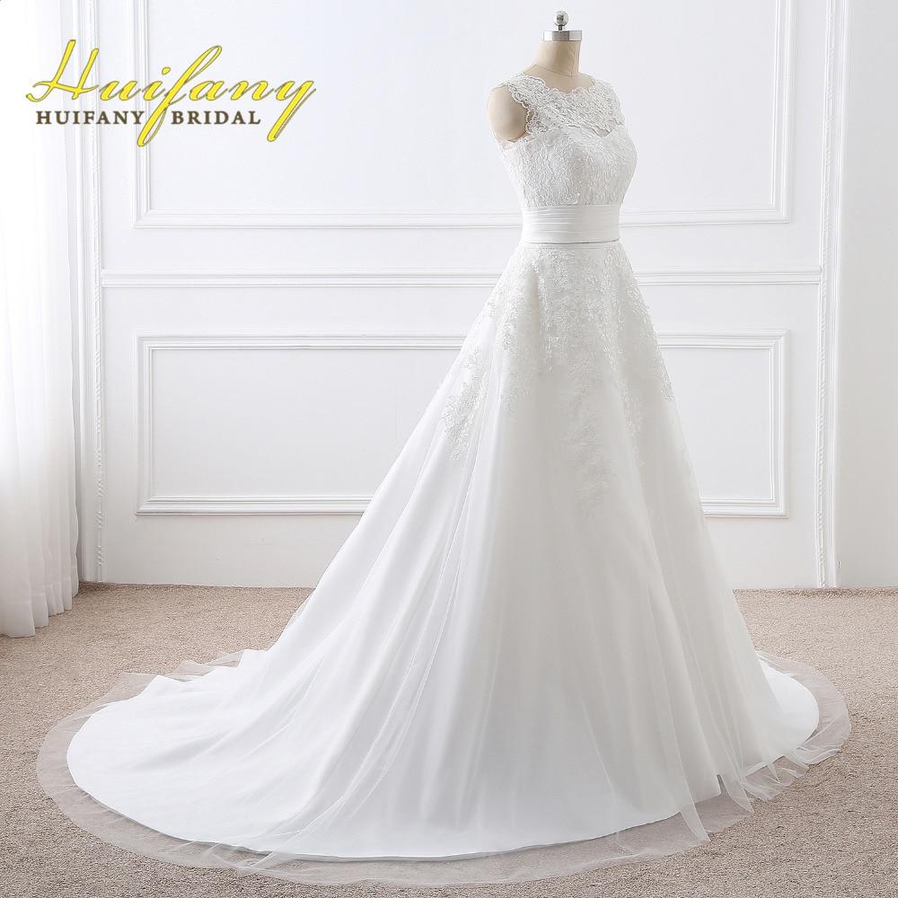 HUIFANY New Designer Wedding Dress A Line Wedding Dress 2017 vintage ...