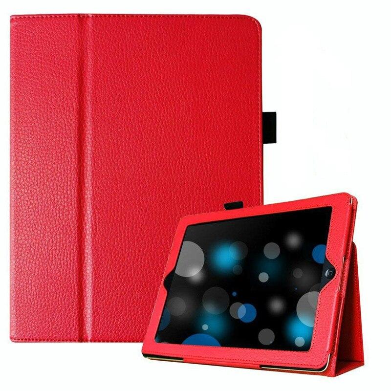 Для Apple iPad 2/3/4 чехол Авто спящий/Пробуждение Флип личи PU кожаный чехол для нового ipad 2 ipad 4 смарт подставка держатель Folio Case