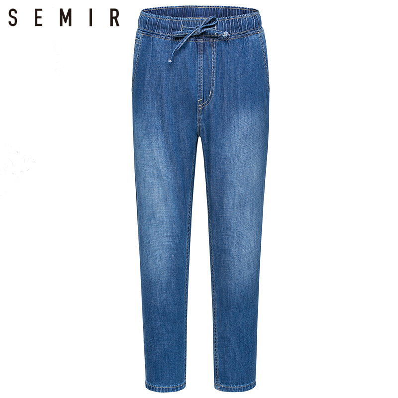 Man Straight Straight Jeans Mens Cotton Casual Jeans Young Mans Jeans