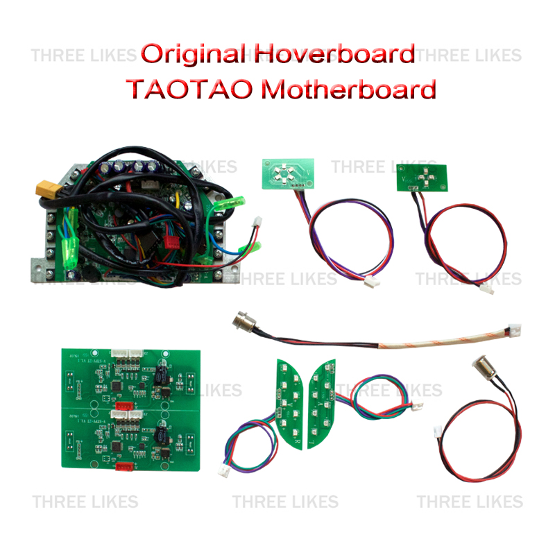 Taotao PCB 6.5/8/10 2 Wheels Self Balancing Electric Scooter Skateboard Hoverboard Motherboard Mainboard Control Circuit Board hoverboard electric scooter motherboard control board pcba for oxboard 6 5 8 10 2 wheels self balancing skateboard hover board