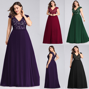 Image 2 - Plus Size Dresses For Women Summer Beach Dress Elegant A Line V Neck Sleeveless Long Boho Dress New Fashion Black Lace Dress