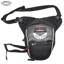 WOSAWE Motorcycle Drop Leg Bags Waterproof 3 layer Multifunction Travel Bag Backpack Fanny Pack Cell Phone Purse Storage