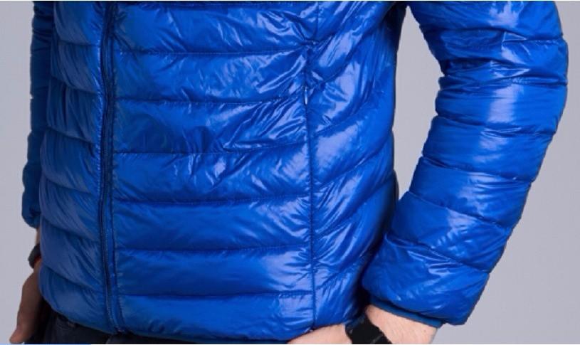 Men casual warm Jackets solid thin breathable Winter Jacket Mens outwear Coat Lightweight parka Plus size XXXL hombre jaqueta 19