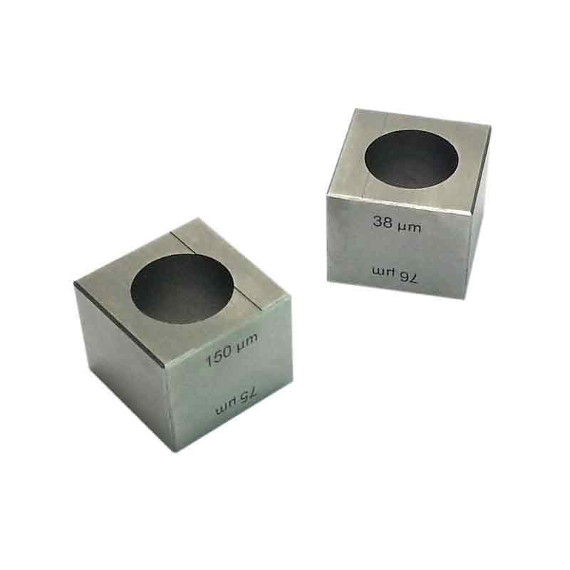 Wet film Cube Applicator Coater Film application coating tool 38 76 75 150 micron coating film