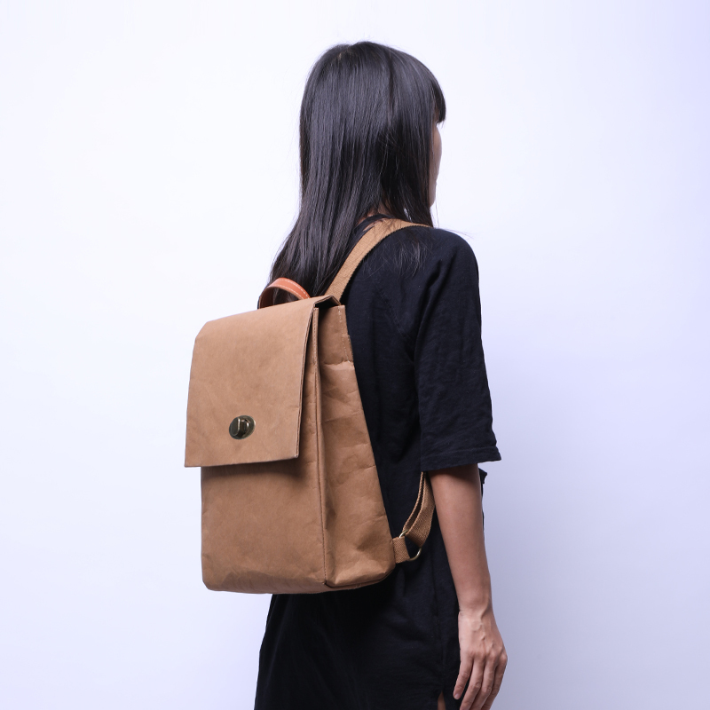 46f71aa100be Super Seabob 2018 Autumn New Pattern Fashion Vintage Large Capacity Kraft  Backpack Concise Solid Color School Bag Unisex DA331
