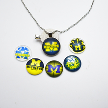 Buy college pendants and get free shipping on aliexpress 10pcs college michigan wolveriness jewelry sports team mozeypictures Image collections