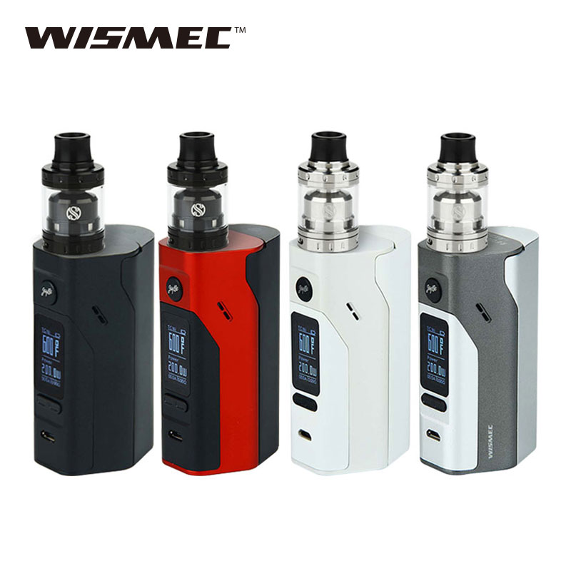 Original WISMEC RX2/3 Vaping Kit 200W & AUGVAPE Merlin Mini RTA 2ml Vaporizer 200W RX23 TC BOX MOD E-cig vs Only RX23 TC MOD termica ан 3 200 tc