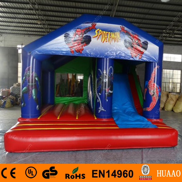 2015 New Commercial Spiderman Inflatable Bouncer Castle Slide with Free CE Blower2015 New Commercial Spiderman Inflatable Bouncer Castle Slide with Free CE Blower