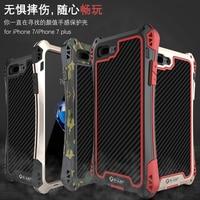 I7 Plus Luxury Armor Dirt Shock Waterproof Metal Aluminum Phone Case For Iphone 7 4 7