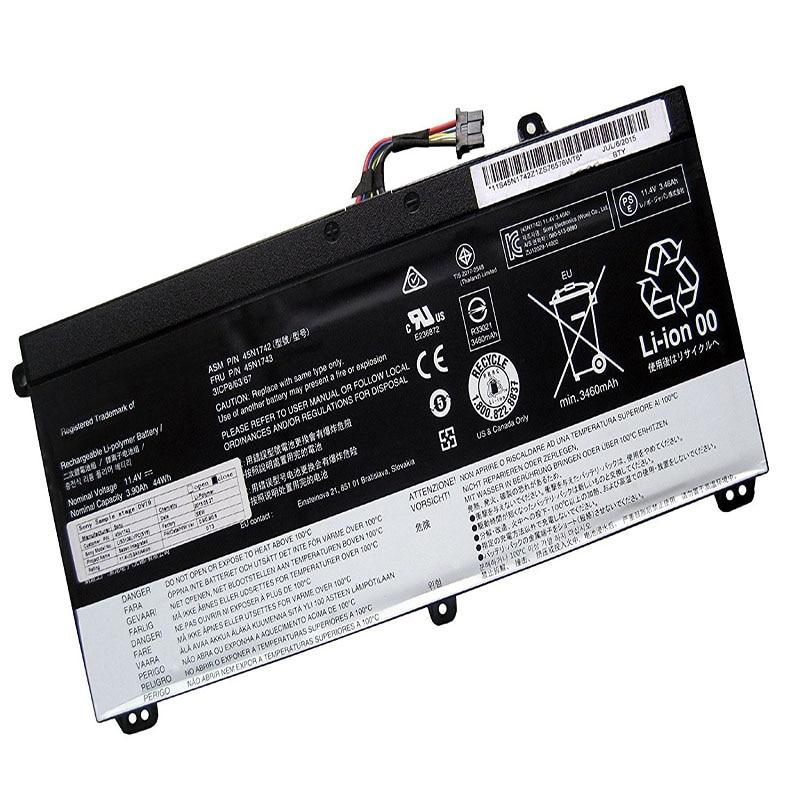 LAPTOP BATTERY 45N1742 45N1743( 11.4V 44WH ) For Lenovo ThinkPad T550 T550s W550 W550s 45N1740 45N1741