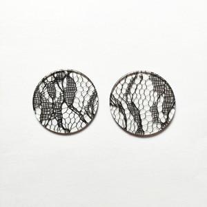 Image 5 - Neue ankunft! 35mm 100 teile/los klar acryl münze form charms für stud ohrringe/ohrringe zubehör/Ohrring teile DIY