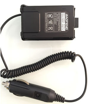 Original Baofeng Car Charger Battery Eliminator Adapter For UV-5R UV-5RB UV-5RA series Two Way radio Walkie Talkie Accessories U