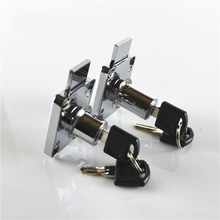 5PCS/LOT Furniture Hardware Drawer Cabinet Lock/Door Lock Desk Locker 16mm Bolt With Two Keys HM108