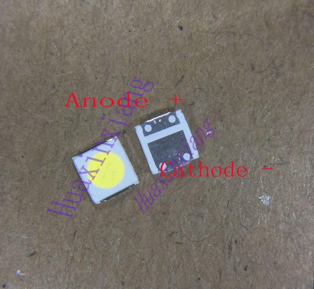 100PCS/Lot Lextar High Power SMD LED 3030 6V 1.8W Cool White 150-187LM For TV Backlight Application