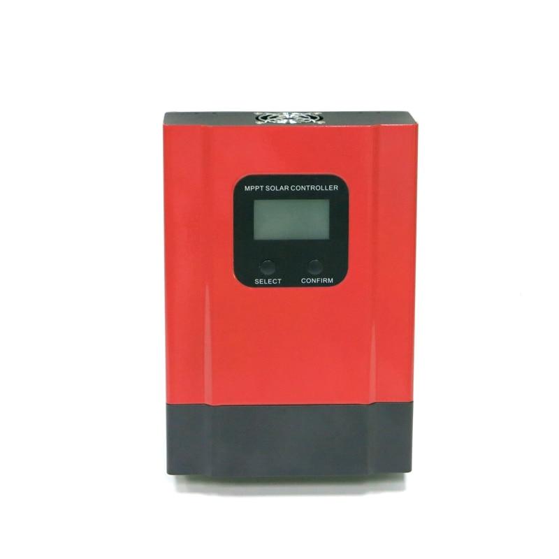 20A 40A 60A MPPT Solar Charge Controller 12V 24V 36V 48V Auto LCD Display Sealed Gel