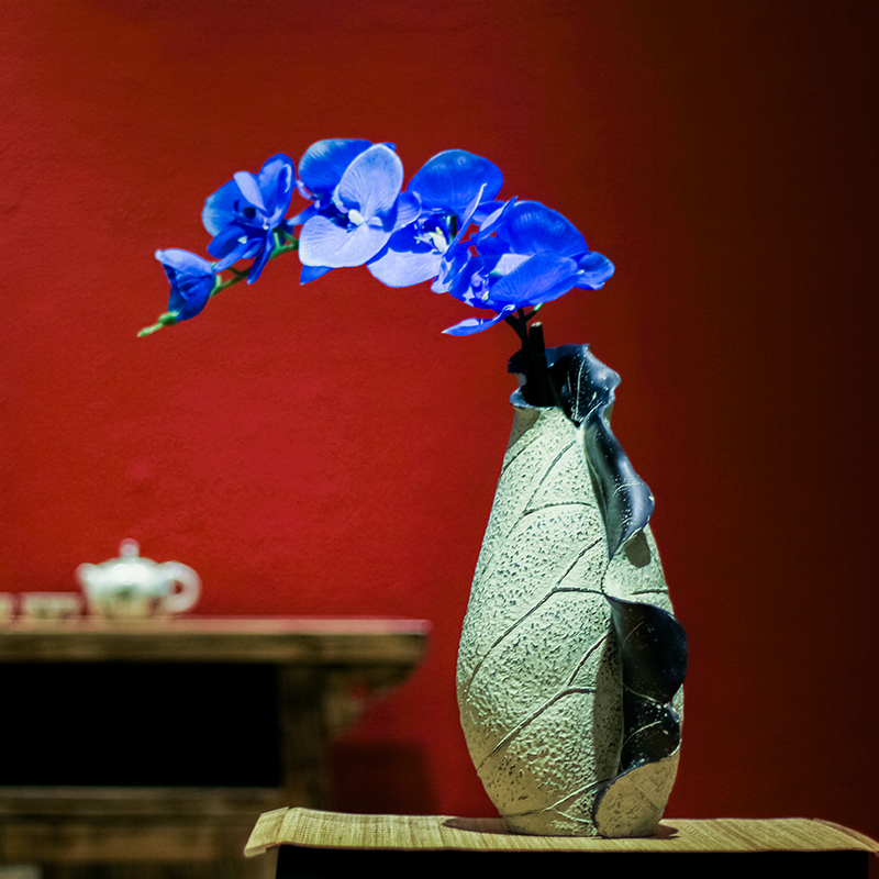 Китайский цветок лотоса украшения домашнего интерьера стол творческая гостиная украшения ремесла ваза для цветов