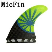 Micfin futuras aletas de surf aletas de tablas de surf de fibra de vidrio del Panal quilhas pranchas de surf surf aleta aleta futuro