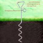 Outdoor Dog Fixed Pile with Tie Dog Leash Tied For Camping Anti Missing Play in the Yard Accessories Dog Outdoors Products