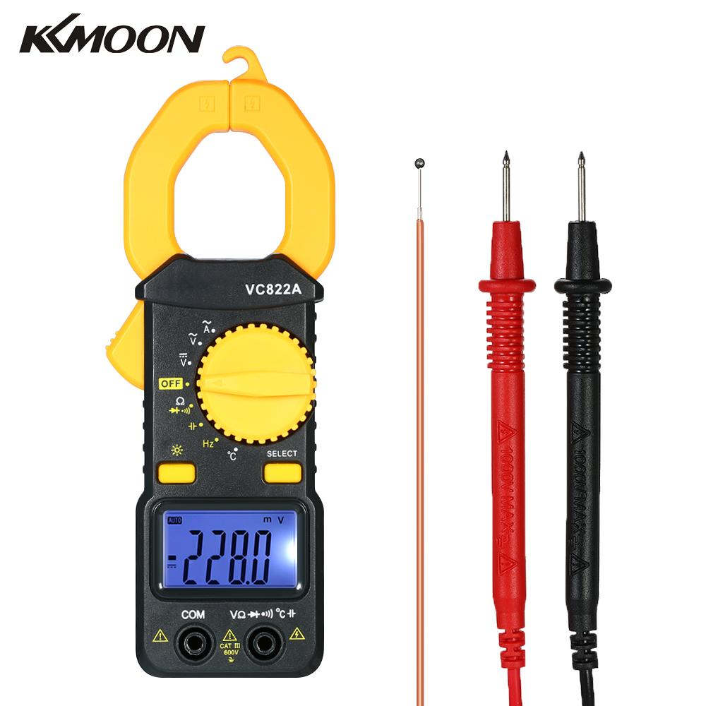 Digital Clamp Meter 4000 Counts Auto-ranging ac/dc Voltage Portable Handheld multimeter current clamp LCD Diaplay Tester