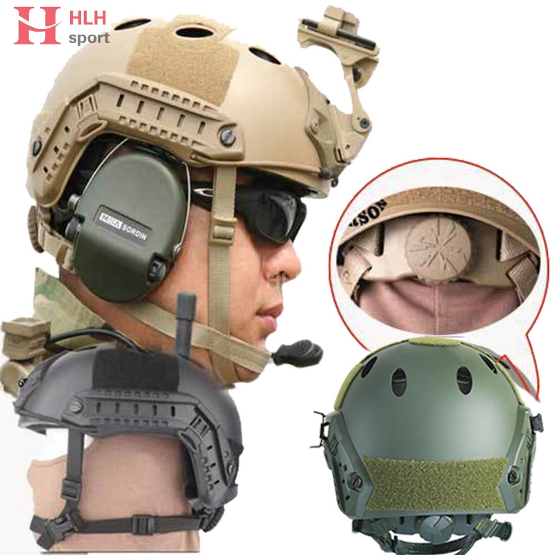 цены  Mens Emerson Fast Jump Helmet Military Adjustable OPS Core Protective Tactical Helmet