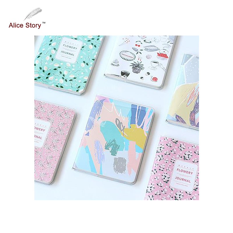 Alice Story Cute Kawaii Notebook High Quality Fresh Diary Journal Planner Notepad for Gift Pocket Efficiency Manual 2018 successful teacher workbook this half year edition notepad planner effective time management manual b5