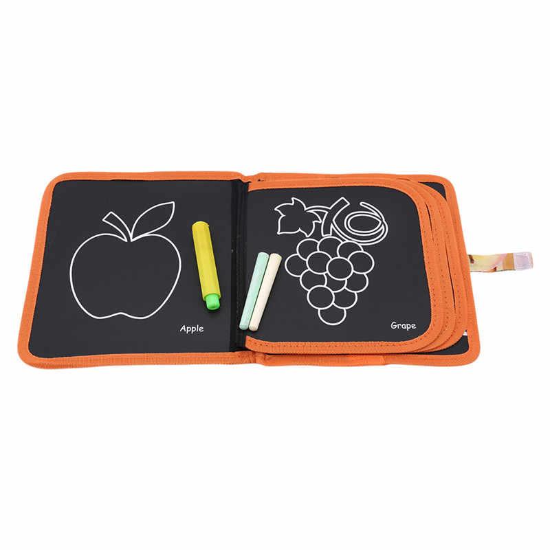 เด็ก Doodle Book ฝุ่น - ฟรีรีไซเคิลล้างทำความสะอาดได้ Drawing Board สัตว์น่ารักสร้างสรรค์ของเล่นสำหรับเด็ก