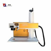 20W High Speed Plastic Label and Tag Fiber Laser Engraving Machine
