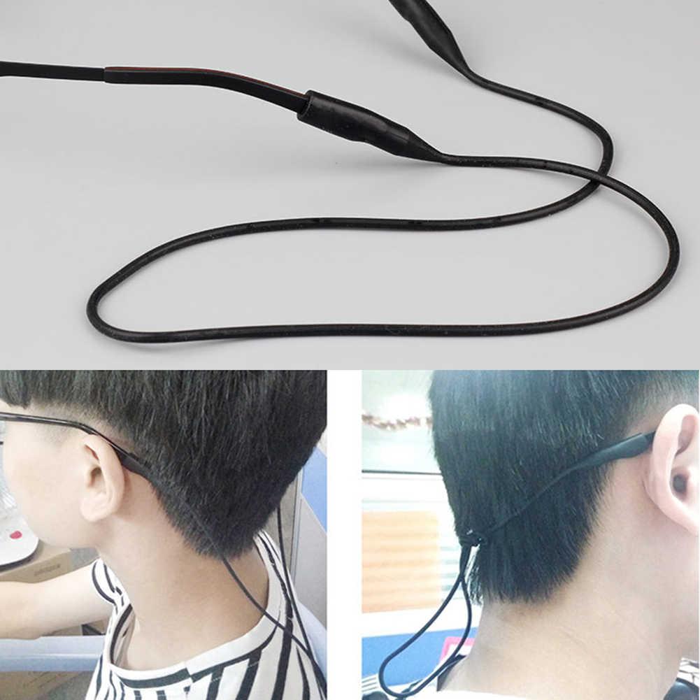 1 PC ลูกอมสีซิลิโคนยืดหยุ่นแว่นสายตาสายไฟผู้ถือ Anti SLIP แว่นตากันแดดแว่นตาสาย String เชือก